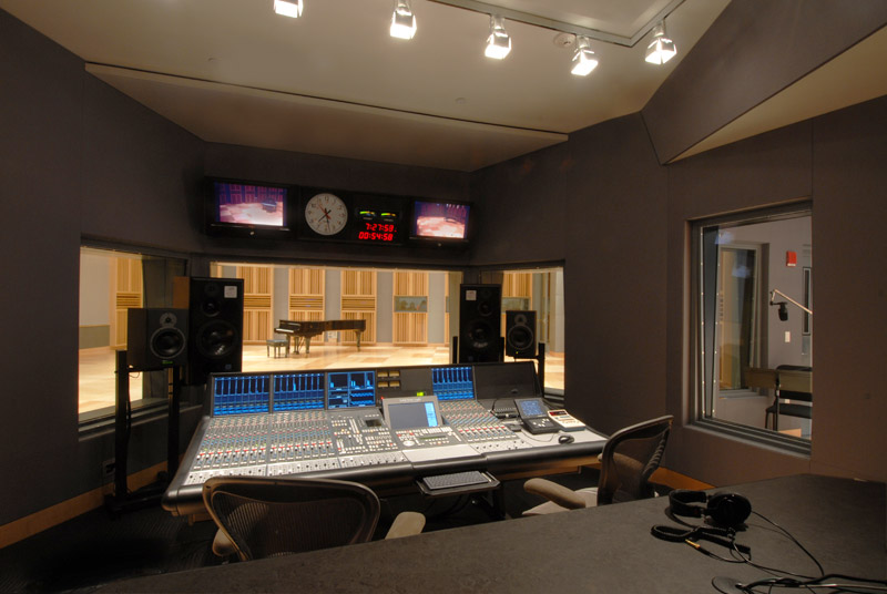 State Of The Art Recording Facilities And Equipment At Fraser Performance Studio At Wgbh In Boston